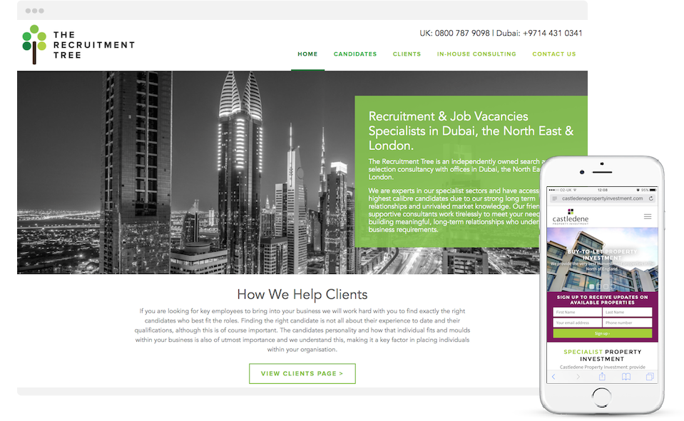 web design newcastle north east digipro